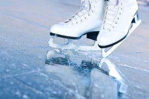 cat fat people ice skate
